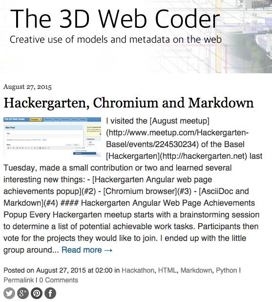 Typepad Markdown