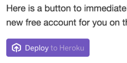 'Deploy to Heroku' button