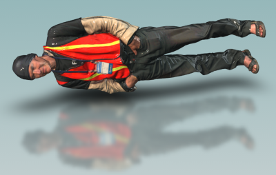 Jeremy lying down
